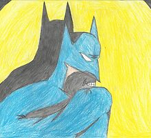 Batman-Color Pencil by batmanjpd