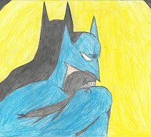 Batman-Color Pencil by batmanjpd