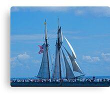 Tall Ships 3 Canvas Print