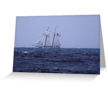 Tall Ship 4 Greeting Card
