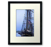 Tall Ship Mass  Framed Print