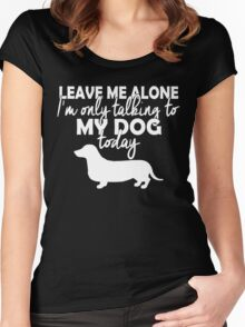 Dachshund tshirts Women's Fitted Scoop T-Shirt