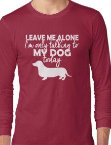 Dachshund tshirts Long Sleeve T-Shirt