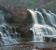 Gooseberry State Park Waterfalls by Tina Hailey