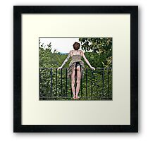 A Great View Framed Print