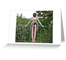 A Great View Greeting Card