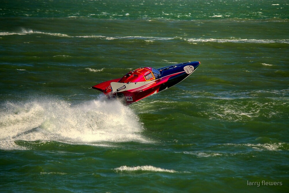 V24 Powerboat by larry flewers