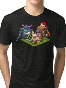 Christmas clash Tri-blend T-Shirt