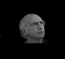 Larry David Stare by Mike Hale