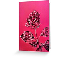 I would like to point out ... a rose. Greeting Card