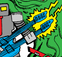 Robot Monster Power Jam Sticker