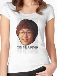 Imp - Cry Me a River (Best Quality ever) Women's Fitted Scoop T-Shirt