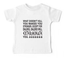 What doesn't kill you.... Kids Clothes