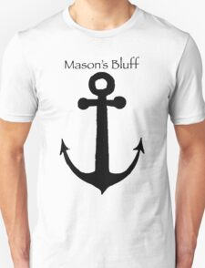 Mason's Bluff Anchor Unisex T-Shirt