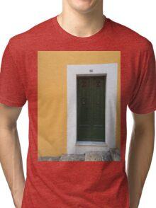 Yellow & Green - Chiara Conte Tri-blend T-Shirt