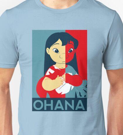 Ohana Poster Shirt Unisex T-Shirt