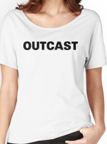 Funny Marijuana Outcast Women's Relaxed Fit T-Shirt