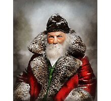 Christmas - Santa - Saint Nicholas 1895 Photographic Print