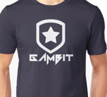 Gambit Gaming Future Logo (white) Unisex T-Shirt