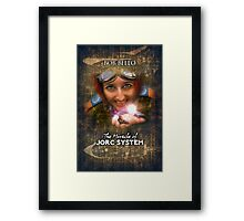 The Miracle of Jorc System Framed Print