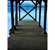Ted and Bill's Dock Photographic Print