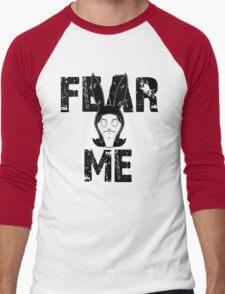 The face of evil Men's Baseball ¾ T-Shirt