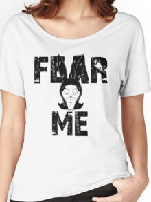 The face of evil Women's Relaxed Fit T-Shirt