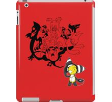 Music Demon Red iPad Case (Black Outline) iPad Case/Skin
