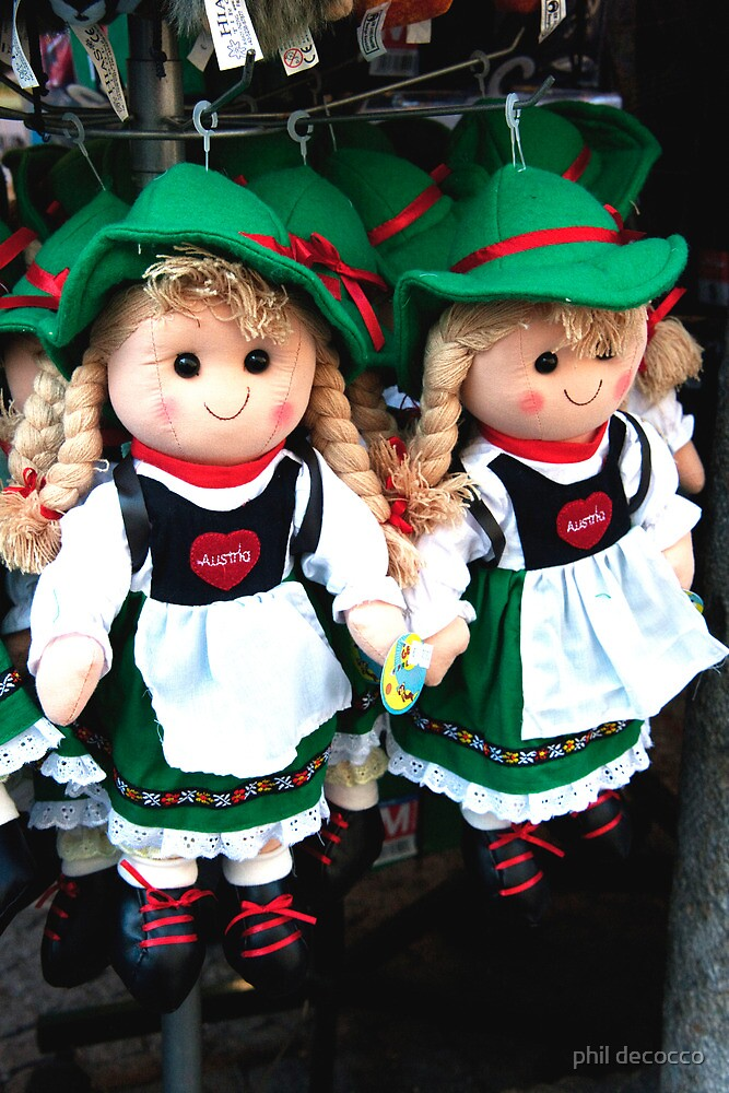 Austrian Girls by phil decocco