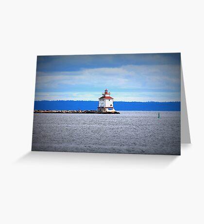 Thunder Bay Lighthouse Greeting Card