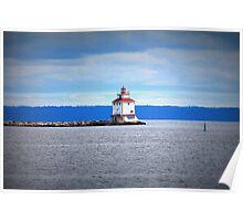 Thunder Bay Lighthouse Poster