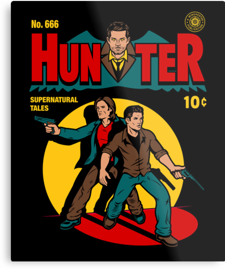 Hunter Comic by harebrained
