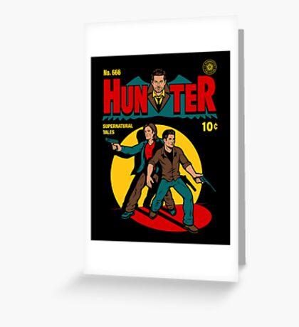 Hunter Comic Greeting Card