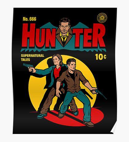 Hunter Comic Poster