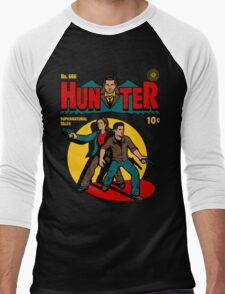 Hunter Comic Men's Baseball ¾ T-Shirt