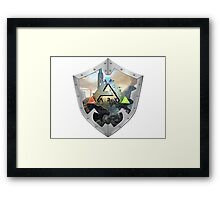 ARK - survival evovled Framed Print