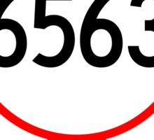 NM 6563 - Sunspot Sticker