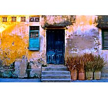 Chinese Facade of Hoi An in Vietnam Photographic Print