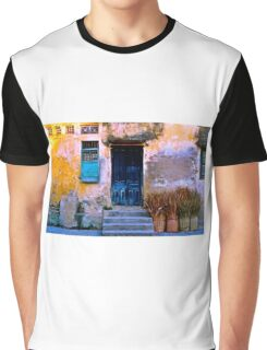 Chinese Facade of Hoi An in Vietnam Graphic T-Shirt