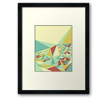 Facet - Bloom Tone Framed Print