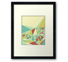 Facet - Bloom Tone Framed Print