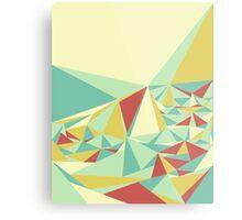 Facet - Bloom Tone Metal Print