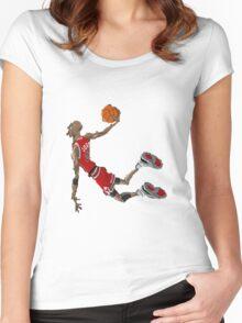 Jordan Women's Fitted Scoop T-Shirt