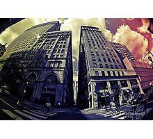 City Data Style Photographic Print