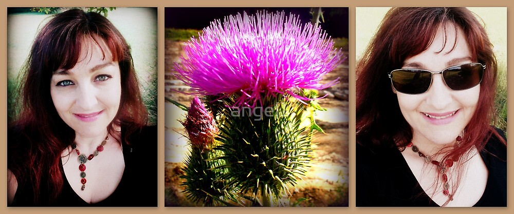 Thistle & Me by ©The Creative  Minds
