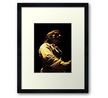 Atmospheric Flamenco Framed Print