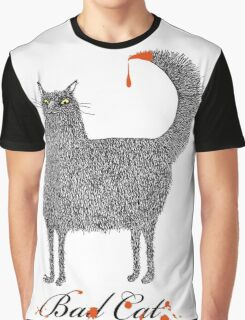 Bad Cat Graphic T-Shirt