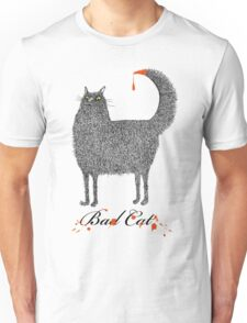 Bad Cat Unisex T-Shirt