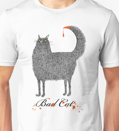 Bad Cat Unisex T-Shirt