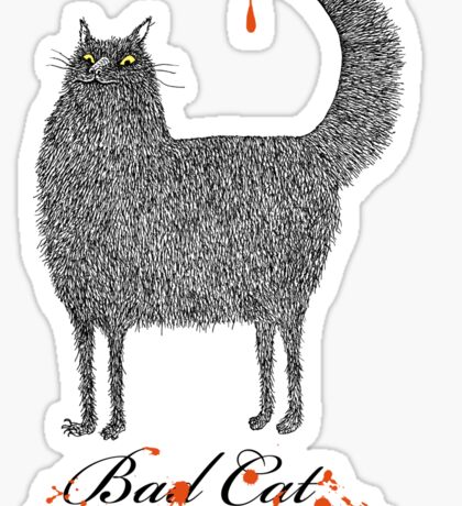 Bad Cat Sticker